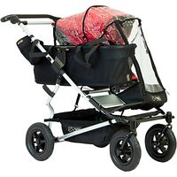 Mountain Buggy Duet Single Pushchair Storm Cover, Black