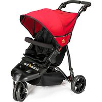 Out N About Little Nipper Pushchair, Red/Black