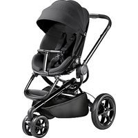 Quinny Moodd Pushchair, Black Devotion
