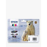Epson Polar Bear 26 Ink Cartridge Multipack