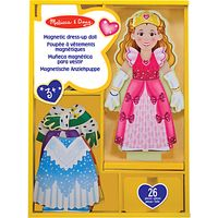 Melissa & Doug Princess Elise Magnetic Dress-Up Set