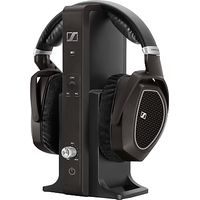 Sennheiser RS 185 Wireless Over Ear Digital Headphones with Manual Level Control
