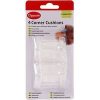 Clippasafe Corner Cushions, Pack of 4, White