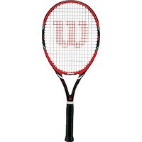 Wilson Federer Team 105 Adult Tennis Racket, Red/Black