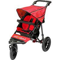 Out N About Nipper 360 Single V4 Pushchair, Red