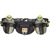 Nathan Trail Mix Hydration Belt, Black/Grey