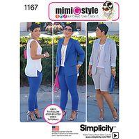Simplicity Mimi G. Sportswear Sewing Pattern, 1167