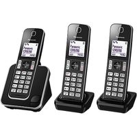 Panasonic KX-TGD313ED Digital Cordless Phone with Nuisance Call Control, Trio DECT