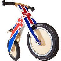 Kiddimoto Kurve Balance Bike, Union Jack