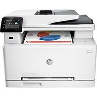 HP LaserJet Pro M277dw Wireless Colour All-in-One Laser Printer & Fax Machine, White