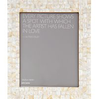 John Lewis Mother Of Pearl Photo Frame, 8 x 10