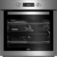 Beko BIM16300XC Single Multifunction Electric Oven, Stainless Steel