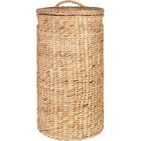 John Lewis Water Hyacinth Round Laundry Basket