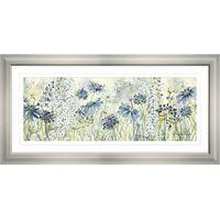Catherine Stephenson - Powder Blue Panel, 55 x 110cm