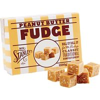 Mr Stanleys Peanut Butter Fudge, 200g