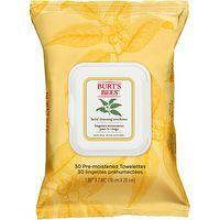 Burts Bees White Tea Facial Wipes, x 30