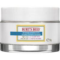 Burts Bees Intense Hydration Night Cream, 50g