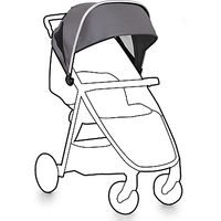 BabyStyle Oyster Lite Exclusive Colour Pack, Grey