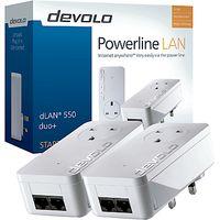 Devolo dLAN 550 duo+ Powerline Starter Kit