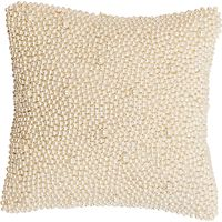 Christy Venus Faux Pearl Covered Cushion