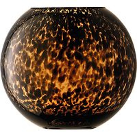 LSA International Tortoise Shell Globe Vase