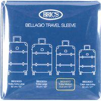 Brics 27-Inch Transparent Bellagio Trolley Cover, Clear