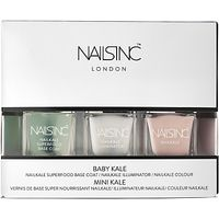 Nails Inc. Nailkale Polish Baby Kale Collection, 3 x 5ml