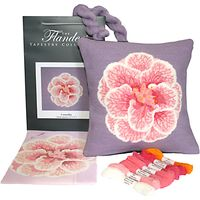 The Flanders Tapestry Collection Camelia Tapestry Kit
