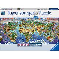 Ravensburger World Wonders Jigsaw Puzzle, 2000 Pieces