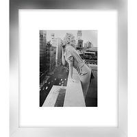 Getty Images - Marilyn On Roof Print, Silver Frame, 60 x 52cm