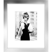 Getty Images - Lunch On 5th Ave, Silver Frame, 60 x 52cm