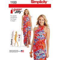 Simplicity Womens Jiffy Sarong Sewing Pattern, 1100