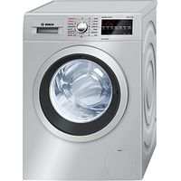 Bosch WVG3046SGB Washer Dryer, 8kg Wash/5kg Dry Load, A Energy Rating, 1500rpm Spin, Silver