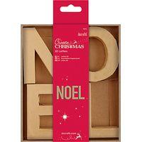 Docrafts Create Christmas Noel 3D Letters, 10cm