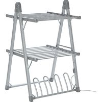 John Lewis 2-Tier Heated Indoor Clothes Airer