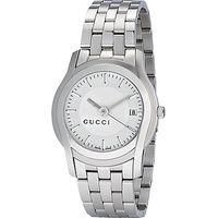 Gucci YA055212 Womens G-Class Bracelet Strap Watch, Silver