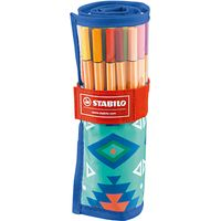 Stabilo Festival Wrap of Pens, Pack of 25