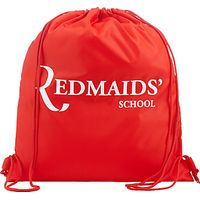 The Red Maids School Gym Bag, Red