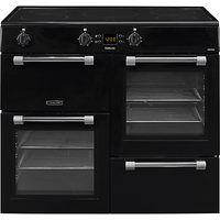 Leisure Cookmaster CK100D210K Freestanding Electric Range Cooker, Black