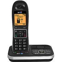 BT 7610 Digital Cordless Phone with Nuisance Call Blocker & Answering Machine, Single DECT