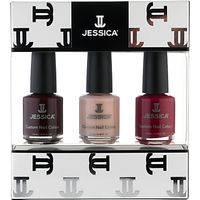 Jessica Classics Midi Vitamin Enriched Custom Colours Gift Set, 3 x 7.4ml