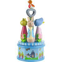 Orange Tree Peter Rabbit Carousel Music Box
