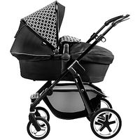 Silver Cross Pioneer Pushchair Exclusive Package, Black Links