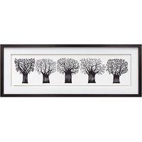 Charlene Mullen - Forest Of Trees, Framed Print, 39 x 103cm