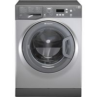 Hotpoint Aquarius WMAQF721G Washing Machine, Graphite
