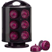 BaByliss 3663U Curl Pods Heated Curlers, Black/Pink
