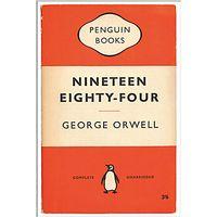 Penguin Books - Nineteen Eighty-Four (1984) Unframed Print with Mount, 40 x 30cm