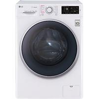 LG FH4U2TDH1N Freestanding Washer Dryer, 8kg Wash/5kg Dry Load, A Energy Rating, 1400rpm Spin, White