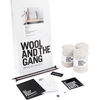 Wool and the Gang Lil Pillow Talk Knit Kit, Sahara Dust