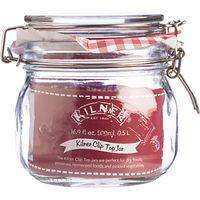 Kilner Clip Top Jar, 500ml, Red